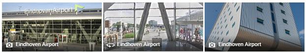 Parkeren bij vliegveld Eindhoven