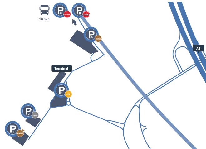 parkeergelegenheden-eindhoven-airport